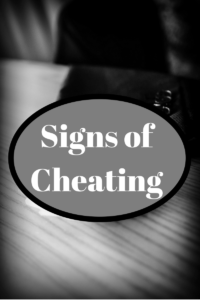 Signs of Cheating