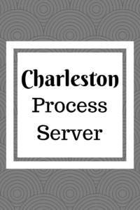 Charleston Process Server